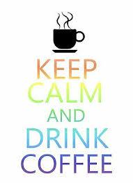 Keep Calm And Drink Coffee Tea Sticker Decal Vinyl Bumper Car Truck Cup Laptop Ebay