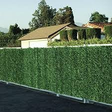 150x300cm Privacy Wall Conifer Hedge Artificial Greenery Fence Screen Garden 5060297016752 Ebay