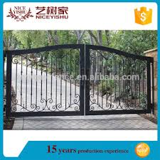 Simple Modern Wrought Iron Gate For Villa Philippines Gates And Fences New Design Iron Gate View Wrought Gate Design Yishujia Product Details From Shijiazhuang Yishu Metal Products Co Ltd On Alibaba Com