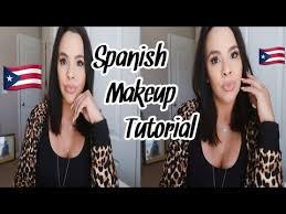 my first spanish makeup tutorial
