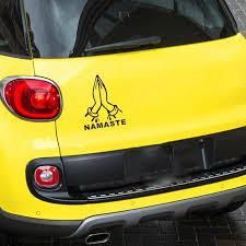 2020 Namaste Hand Gesture Car Decal Sticker Vinyl Symbol Yoga India Die Cut No Background Bumper Sticker Windows Vinyl From Xymy797 4 73 Dhgate Com
