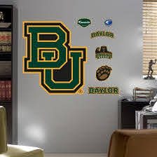 Baylor University Bu Logo Wall Decal Allposters Com