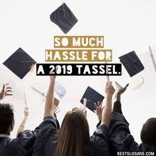 so much hassle for a tassel slogan senior yearbook