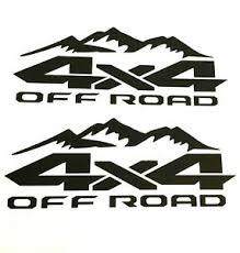 2x Dodge Ram 4x4 Off Road Mountain 1500 2500 Dakota Truck Decal Stickers Chevy Ebay