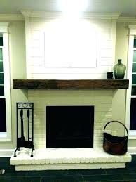 painted brick fireplace colors