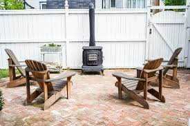 outdoor wood burning fireplace 6 step