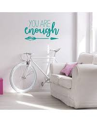 New Deals On Arrow Wall Decal Decor You Are Enough Vinyl Sticker Decorations For Girl S Bedroom Playroom Or Study Area