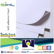 Sihl Printable White Mate Decal Vinyl For Inkjet 5 Sh 8 5x11 Waterproof Ebay