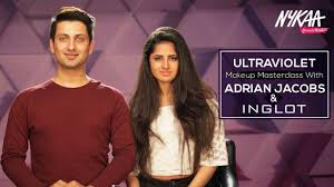 Ultraviolet Makeup Masterclass With Celebrity MUA Adrian Jacobs   Inglot    Nykaa - YouTube