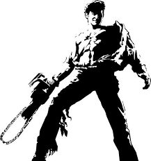 Evil Dead Army Of Darkness Vinyl Decal For Macbook