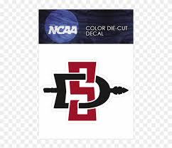San Diego State Aztecs Logo Ncaa Die Cut Vinyl Car Sdsu Decal Hd Png Download 640x640 5630531 Pngfind