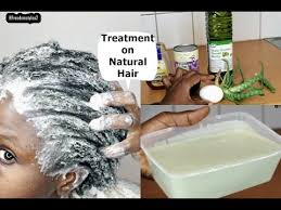 diy homemade hair conditioner on