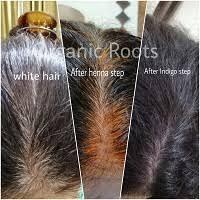 natural hair coloring kit in