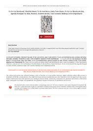 pdf to do list notebook checklist