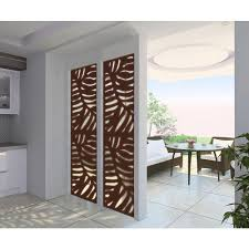 Modinex 4 Ft X 2 Ft Espresso Brown Modinex Decorative Composite Fence Panel In Cabo Design Usamod1e The Home Depot Decorative Screen Panels Outdoor Wall Panels Metal Wall Panel