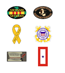 Military Auto Magnets Military Gifts And More At Priorservice Com