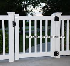 Gate Kits For Vinyl Deck And Porch Railing