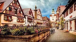 hd wallpaper little town germany