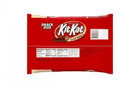kit kat snack size wafer bars 20 1 oz