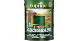 Cuprinol 5 Year Ducksback Wood Protection Green 5l Compare Prices Now