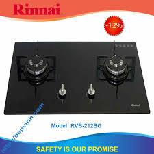 Bếp gas âm Rinnai RVB-212BG | Bếp âm Rinnai chính hãng giá rẻ tại Vinh