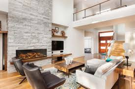 modern fireplaces featuring app control