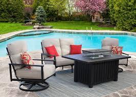 cast aluminum outdoor patio dining set