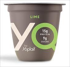 a handful of lower sugar yogurts that