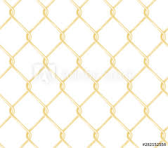 Seamless Golden Chain Link Fence Pattern Realistic Wire Fence Vector Texture Buy This Stock Vector And Explore Similar Vectors At Adobe Stock Adobe Stock