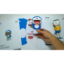 Bộ Xếp Hình Giấy Doraemon Và Nobita