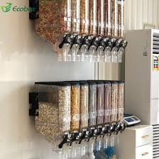 china wall mounted plastic dry food