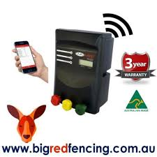 Jva Mb12 120km Mains Or Battery Powered Electric Fence Ip Energizer 12 Joule Big Red Fencing