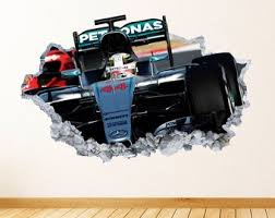 Formula 1 Wall Decal Etsy