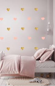 Paints Large Gold Heart Wall Decal Also Gold Wall Stickers In Independence