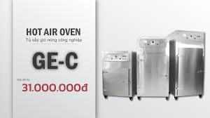 Máy sấy công nghiệp GEC chất lượng, tiện lợi và cực kì bền bỉ - SGE