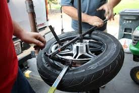 motorcycle tire change balance in your