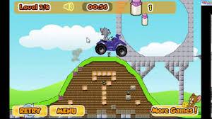 Hoạt hình Tom và Jerry: Tom và Jerry lái xe ATV leo dốc nguy hiểm ...