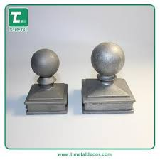 Manufacture Aluminum Die Casting Ball Caps Fence Post Caps Pole Cap For Sale Aluminum Fence Spearhead And Caps Manufacturer From China 108727204