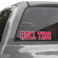 Alabama Crimson Tide Wincraft Roll Tide Perfect Cut Decal