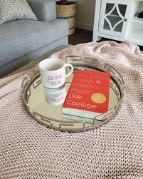 coffee a book mirror tray from