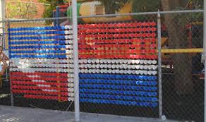 Miss Ambar S Art Class Plastic Cup Fence Flag