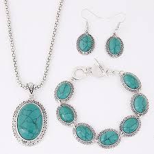 women s turquoise jewelry set las