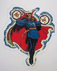 Doctor Dr Strange Marvel Mystic Clea Sticker Decal Car Laptop Cute