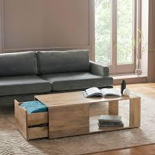 pure storage coffee table whitewash