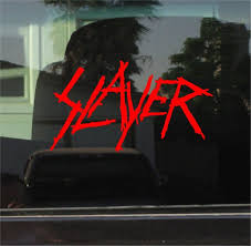 Slayer Band Stickers Custom Sticker Shop