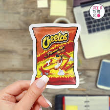 Hot Cheetos Bag Vinyl Decal Cheetos Themed Sticker Food And Etsy