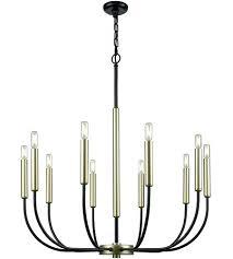 10 light chandelier boosting