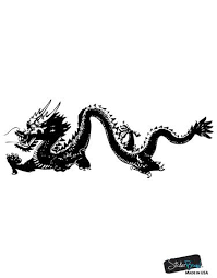Chinese Dragon Wall Decal Asian Home Decor Mmartin146 Stickerbrand