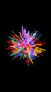 color splash colourful wallpaper iphone