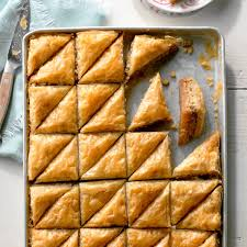 baklava recipe taste of home